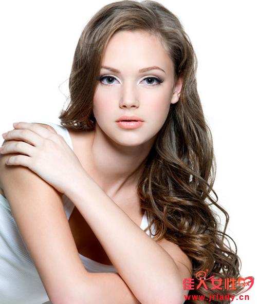Фотоклипарт - Красивые девушки с длинными волосами (JPEG) , картинка номер