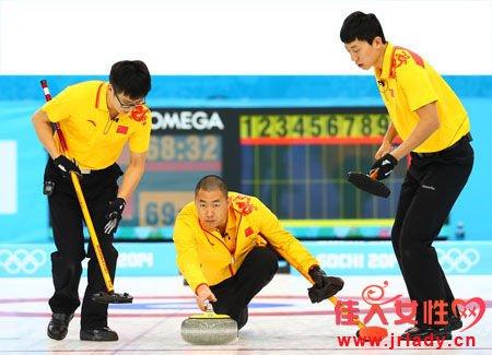中国男子冰壶逼迫美国队提前两局认输 创最佳取胜场次