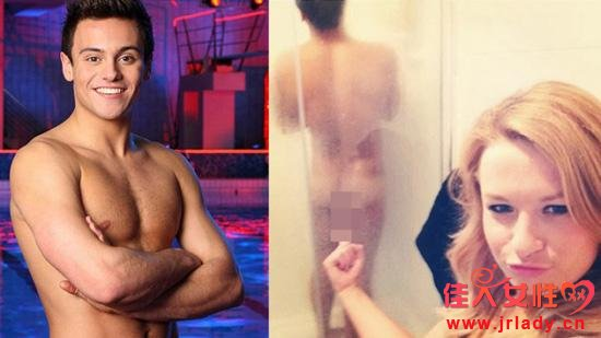 英国跳水神童戴利全裸照曝光 洗澡时遭偷拍