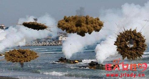 """韩朝军事对峙再创""""历史之最"""""""