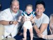 香港明星家庭为慈善拍摄全家福 星二代抢镜