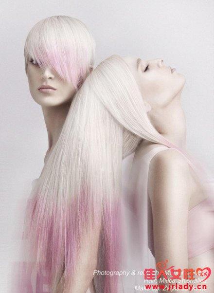 近年流行发色 最IN渐变发色深受年轻人的追捧