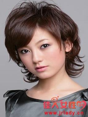 沙宣短发发型图片飞扬你的青春