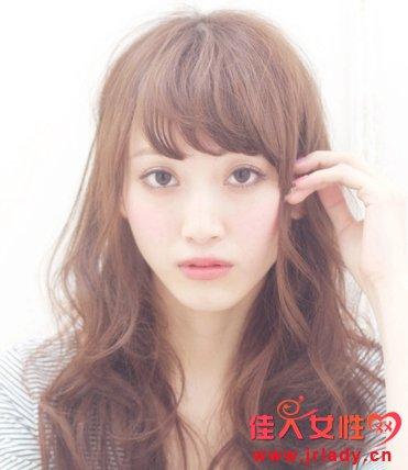 韩式梨花头空气刘海发型-韩式迷人空气刘海 显个性和女人魅力