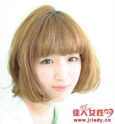 波波头适合什么脸型 波波头发型图片图片