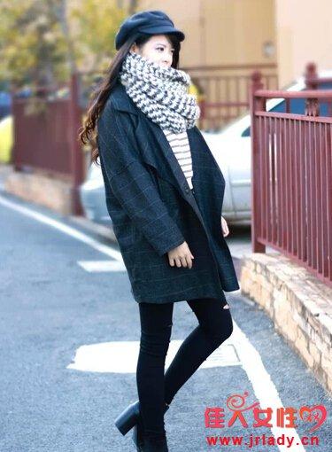 佳人女性网_廊型大衣潮范搭 保暖有型不过时(3) - 服装搭配 - 佳人女性网