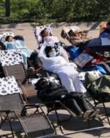 【图】哈尔滨举办睡觉大赛 不脱衣服不脱鞋直接盖被睡觉