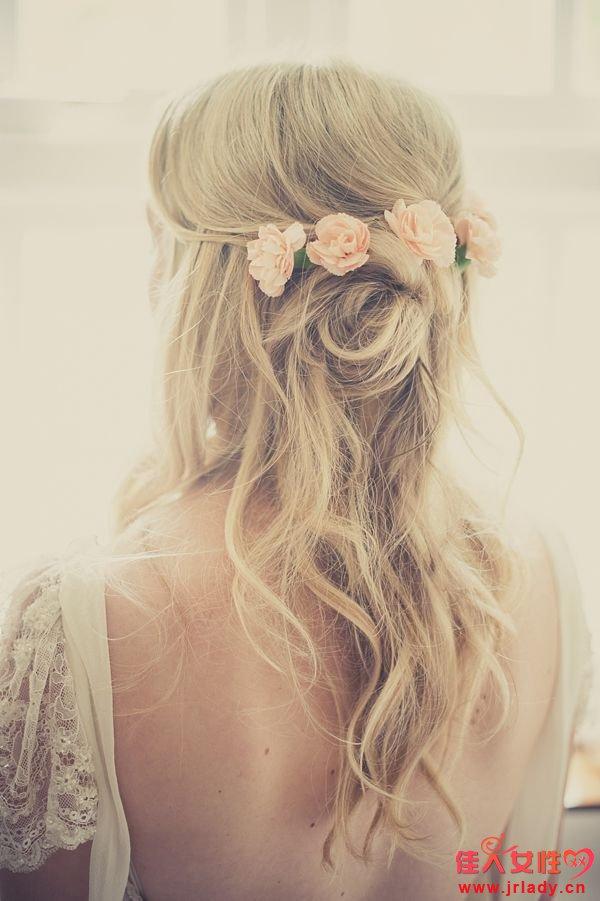 新娘发型长发图片 尽显女性的优_发型设计