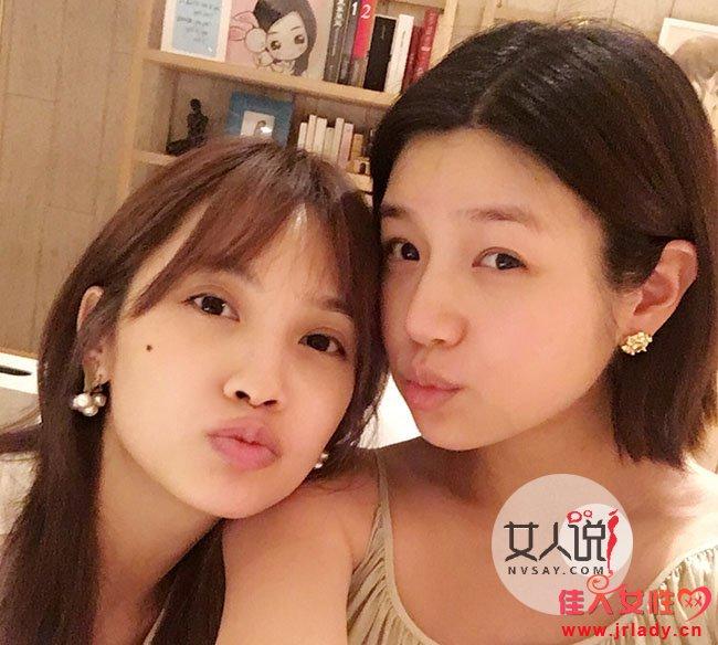 陈妍希素颜自拍曝光 包子蜕化女神是不是瘦身食谱见