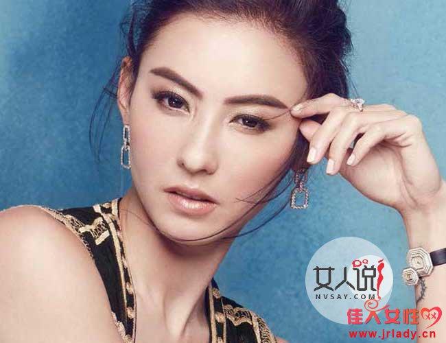 张柏芝受邀拍摄时尚杂志12月圣诞特别刊封面
