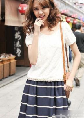 日系小清新风格搭配 展现你的年轻活力