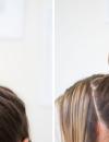 倒编发丸子头的扎法图解 蜈蚣辫是基础