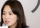 宋慧乔发型图片 咖啡色搭配空气刘海披肩中长发