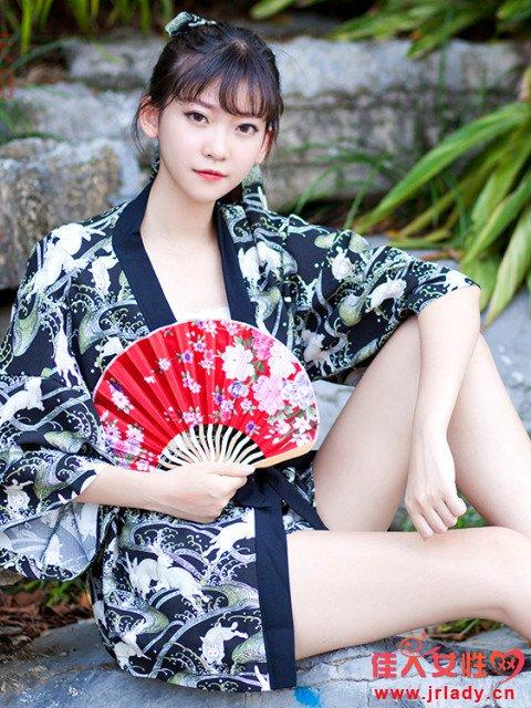 和服式开衫款式图片 遮阳防晒