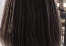 性冷淡风发型图片 灰色调深棕色