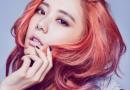Clara李成敏红色染发发型图片 在使徒行者中很性感