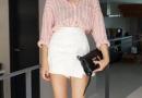 衬衫配短裙甜美活力 穿出少女风