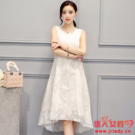 真丝裙款式图片 怎么洗