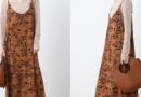 咖啡色裙子搭配图片集锦 揭咖啡色配什么颜色好看时尚