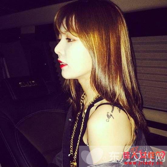 韩国女明星发型 你最中意哪一款