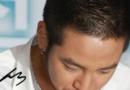 张根硕圆寸子弹头短发发型图片 可以搭配白衬衫