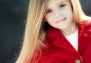 5岁小女孩适合扎的发型图片 花瓣状编发像精灵