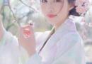 樱花发型图片 搭配公主半扎发自然卷发