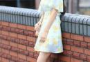 印花连衣裙甜美浪漫 简直美炸了