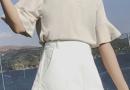 荷叶边裙裤搭配 裙子怎么穿不走光