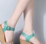 夏季女式凉鞋款式图片推荐