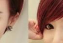 女生斜庞克发型图片 要留多长时间才能剪