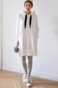 卫衣女装款式搭配图片 怎么洗不起球