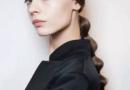侧扎发 也是一种超级流行的发型