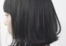 灰粉色头发图片 配暗蓝色不错