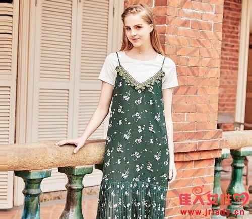 今夏流行穿什么?两件套连衣裙最懂