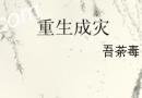 【重生成灾吾荼毒著全文阅读】重生成灾百度云txt下载
