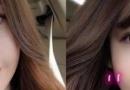 长发梨花头发型图片 染亚麻色更好看