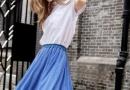 珂珀|白T恤+半身裙,今年夏天最潮搭配!