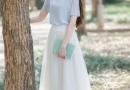 及踝长裙怎么穿好看 裙摆够长才是时髦正道