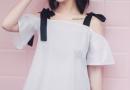 时尚女郎穿衣打扮 细节小衫玩出更多新花样