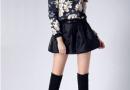 短裙长靴性感搭配 平凡女生变女神只要这一步