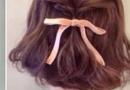 短发扎什么发型好看 半扎发就是这么与众不同