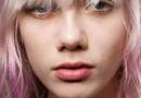 桃粉色头发图片 搭配丸子头更可爱