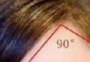 直角刘海怎么剪 额头变成三角形