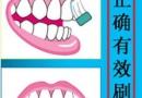 正确的刷牙方法,护齿从基础做起