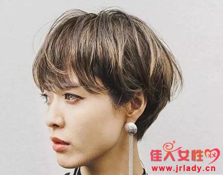 露耳朵短发发型图片 你就是偶像剧女主角