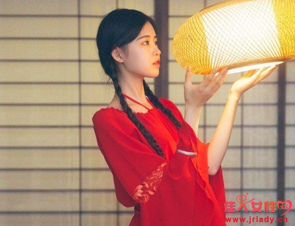中国风满满的改良版汉服 美腻又仙美的汉服