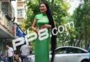 郑州女子蓄发25年发长1.93米 洗发一次耗费半瓶洗发水