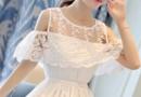 仙气十足的白色连衣裙 夏季款飘逸的白色连衣裙