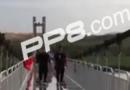 黄河3d玻璃桥视频实拍在线观看 黄河3d玻璃桥现场画面游客实拍曝光